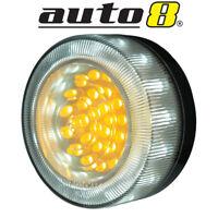 Pair of LED Park Indicator DRL Bullbar Lights Fit Hilux Prado Navara BT50 Ranger
