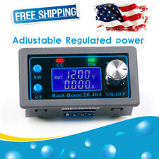 Dc Adjustable Step Up Down Buck Boost Power Supply Voltage Regulator Module New