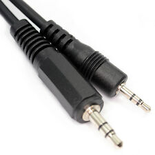 50cm 2.5mm Estéreo Mini Jack a Jack Cable Midi 3.5mm 3 polos Audio AUX Lead D1807