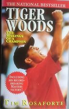 Tiger Woods: The Making of a Champion by Tim Rosaforte (Paperback, 1997)
