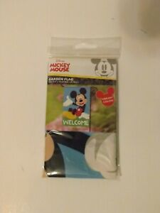 NEW Disney Mickey & Minnie Mouse Garden Flags