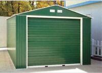 Industrial Metal Garage - 12' x 26' - Roll Up Door - 10 Year Warranty