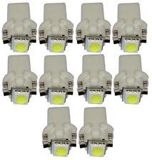 10x ampoule T5 12V LED SMD blanc pour tableau de bord pour auto voiture
