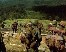 US Army 8th Infantry 1967 Hill 742 Vietnam War 6x5 Inch Reprint Photo