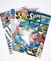 DC Comics Superman Comic Books 10/93-#31 11/94-#43 04/96-#16 Set Of 3