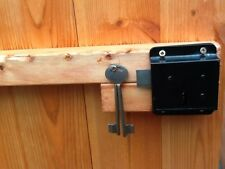 Fitted Press lock for my Pinelap Shed