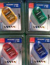 1 MEMORY CARD da 1 Mega per PS1 PSX PSONE PLAYSTATION memoria NUOVA