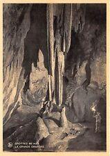 Br35980 Grottes de Han La Grande Draperie belgium