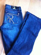 Rock & Republic Blue Jeans Pink Stone  Jeans Size 26