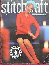 Vintage Dec 1965 Stitchcraft Knitting Booklet