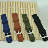 CG_ 18mm/20mm/22mm/24mm Men's Military Nylon Wrist Watch Band Buckle Strap Fshio