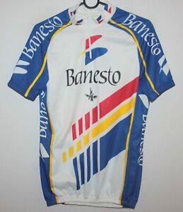 Vintage Banesto cycling team shirt jersey Nalini Size - L 90's