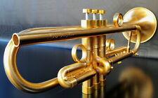 JP by Taylor  U.K. Satin Gold     Custom Bb Trumpet- Professional (Heavy Weight)