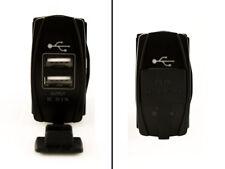 USB UTV Rocker Dash Switch Polaris, Canam, Jeep, Yamaha Lights BLUE