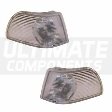 Volvo S70 Saloon 1996-1999 Front Clear Indicators Lights Lamps 1 Pair