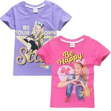 JOJO SIWA Girls summer t-shirt shirts tee top size 3-12 au stock xmas