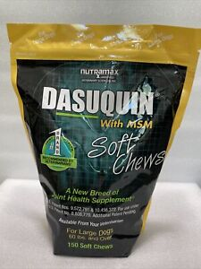 Dasuquin with MSM for Large Dogs (150 Soft Chews) NEW 11/2022