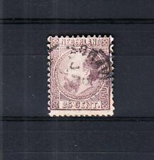 Nederland 11 Willem III 1867 gestempeld, pracht getand exemplaar