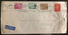 1947 Oslo Norway Airmail Cover To Office Relief & Rehabilita Hamburg Germany