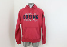 *NEW* Red Boeing Airplane Company Hoodie Size Large