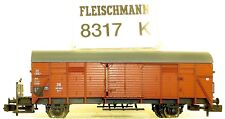 Vagón de mercancía GL 11 M Plataforma frenado DB epiii FLEISCHMANN 8317K NUEVO