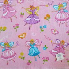 Casaba Kids Girls Fairies Butterflies 2PC Bath,Hand Towels Set Pink,Blue,purple