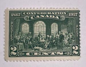 Travelstamps 1927 Canada Stamps: Founding of Canada Confederation SC#142 MNH OG