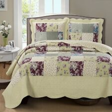 Classic Ivory and Wine Tania Westlife Fashions Antique Mini Bedspread Set