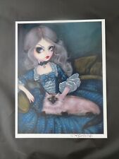 Jasmine Becket-Griffith art print Princess with a Himalayan Cat rococo Signed