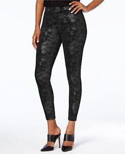 Hue Women's Leggings Distressed Metallic Leggings  S, L, XS, M, XL