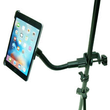 Heavy Duty Clamp Microphone Cymbal Stand Mount for All iPad Galaxy tab tablets