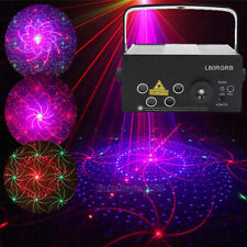 5 Lens RGB LED Stage Laser Light Projector DJ Disco KTV Xmas Party Lighting Show