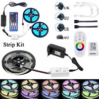 10M 5M 5050 LED Strip RGB / RGBW / RGBWW 300LEDs+RF Controller +12V Power