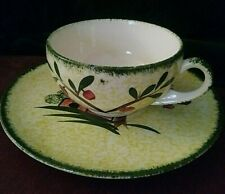 Blue Ridge Weathervane cup and saucer.