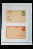 Germany Early Postcard Lot with Special Cancels