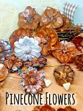 Pinecone Flowers ( Lot Of 50) Elemental Exchanges Easy Nature Craft Supplies