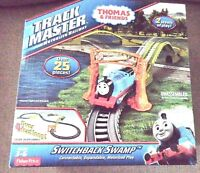 NEW  FISHER  PRICE  ThOMAS  &  FRIENDS  TRACKMASTER  SWITCHBACK  SWAMP