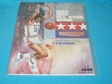 RARE FEBRUARY 13, 1983 NBA ALL STAR GAME PROGRAM FORUM LARRY BIRD MAGIC JOHNSON