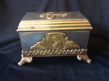 ORIGINAL RUSSIAN IMPERIAL SILVER 84 LARGE RELIGIOUS CARDINAL BOX ANTIQUE RUSSIA