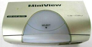 MiniView CS-102U IOGEAR 2 Port USB KVM & Peripheral Sharing Switch