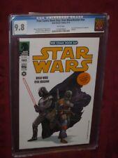 Free Comic Book Day: Star Wars/Avatar CGC 9.8   2013