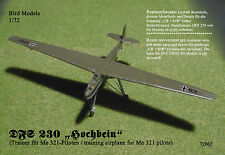 "DFS 230 ""Hochbein""       1/72 Bird Models ResinUMbausatz / resin conversion kit"