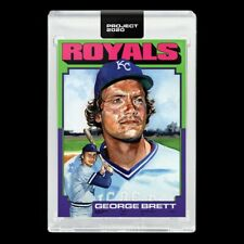 Topps PROJECT 2020 Card 344 - 1975 George Brett by Jacob Rochester (PRE-SALE)