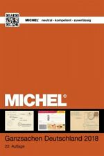 MICHEL Ganzsachen Katalog Deutschland 2018