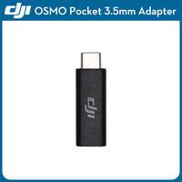 Original DJI Osmo Pocket 3.5mm Adapter External Microphone Mic Audio Accessory