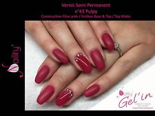 Vernis Semi Permanent n°43 Pulpy 7ml NAILITY UV/LED/CCFL GEL POLISH USA