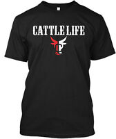 Cattle Life Hanes Tagless Tee T-Shirt