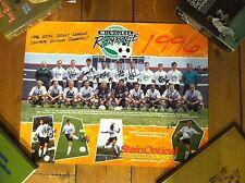 1996 Milwaukee Rampage Team Signed Autograph Auto Poster Rare Vintage