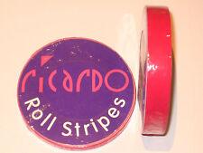 Cerise Hot Pink 12mm  Single Coachline Tape Pin Stripe 8 Metres  U.K. Seller