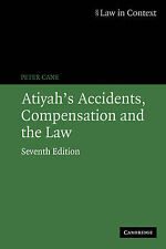 Atiyah's Accidents, Compensation and the Law (Law in Context)-ExLibrary